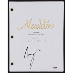 "Scott Weinger Signed ""Aladdin"" Movie Script (PSA COA)"