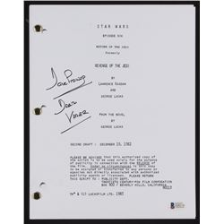 "David Prowse Signed ""Star Wars: Return of The Jedi"" Movie Script Inscribed ""Darth Vader"" (Beckett Ho"