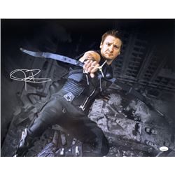 "Jeremy Renner Signed ""The Avengers"" 16x20 Photo (JSA COA)"