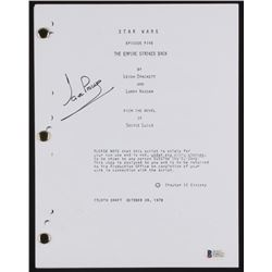 "David Prowse Signed ""Star Wars: The Empire Strikes Back"" Movie Script (Beckett COA)"