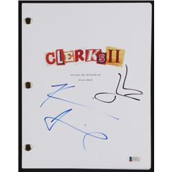 "Kevin Smith  Jason Mewes Signed ""Clerks II"" Movie Script (Beckett COA)"