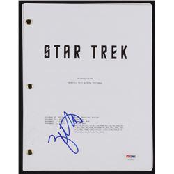 "Zachary Quinto Signed ""Star Trek"" Movie Script (PSA COA)"
