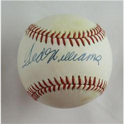 Ted Williams Signed OAL Baseball (PSA LOA)