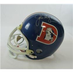 John Elway Signed Denver Broncos Throwback Full-Size Helmet (PSA COA)