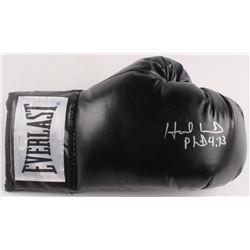 Evander Holyfield Signed Everlast Boxing Glove (JSA COA)