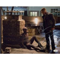 "Jon Bernthal Signed ""Daredevil"" 11x14 Photo with Hand-Drawn Sketch (JSA COA)"