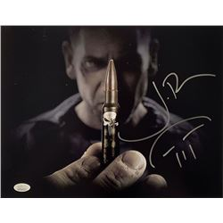 "Jon Bernthal Signed ""Punisher"" 11x14 Photo with Hand-Drawn Sketch (JSA COA)"