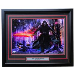 "Greg Horn Signed Star Wars ""Kylo Ren"" 20x26 Custom Framed Lithograph Display (JSA COA)"