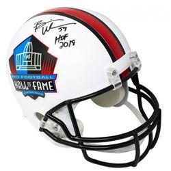 """Brian Urlacher Signed Pro Football Hall of Fame Full-Size Helmet Inscribed """"HOF 2018"""" (JSA COA)"""
