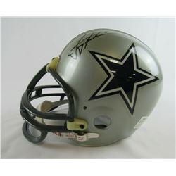 Troy Aikman Signed Dallas Cowboys Full-Size Helmet (PSA COA)