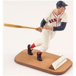 Ted Williams Signed LE Boston Red Sox Figurine (Gartlan Hologram)