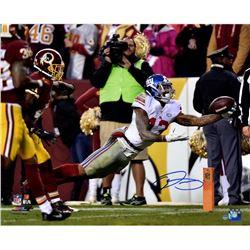 """Odell Beckham Jr. Signed New York Giants """"Diving Catch"""" 16x20 Photo (Steiner COA)"""