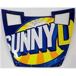 Ricky Stenhouse Jr. Signed Race-Used Sunny D #17 Full Hood Sheet Metal (PA COA)
