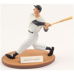 Joe DiMaggio Signed LE New York Yankees Gartlan Figurine (Gartlan COA)