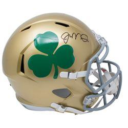Joe Montana Signed Notre Dame Fighting Irish Full-Size Speed Helmet (JSA COA)