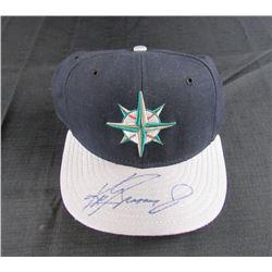 Ken Griffey Jr. Signed Seattle Mariners New Era Fitted Hat (JSA COA)