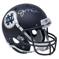 Joe Montana Signed Notre Dame Fighting Irish Matte Navy Full-Size Helmet (JSA COA)