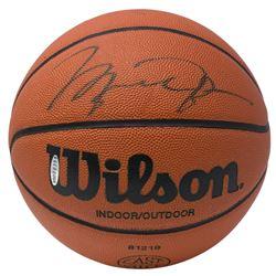 Michael Jordan Signed Basketball (UDA Hologram)