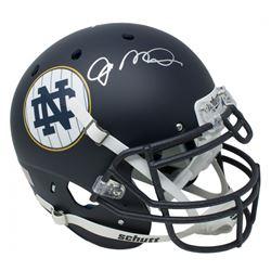 Joe Montana Signed Notre Dame Fighting Irish Matte Navy Full-Size Authentic On-Field Helmet (JSA COA