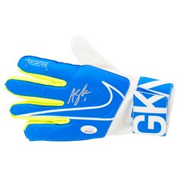 Alyssa Naeher Signed Nike Soccer Goalkeeper Glove (JSA COA)