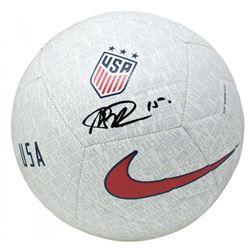 Megan Rapinoe Signed Team USA Nike Soccer Ball (JSA COA)