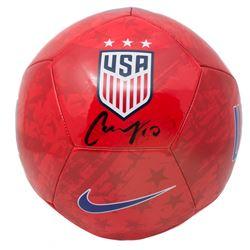 Carli Lloyd Signed Team USA Nike Soccer Ball (JSA COA)