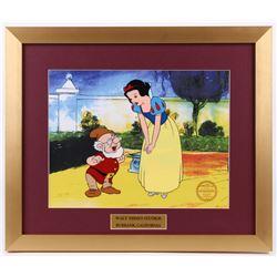 "Walt Disney's ""Snow White and the Seven Dwarfs"" 16x19 Custom Framed Animation Serigraph Display"