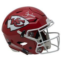 Tyreek Hill Signed Kansas City Chiefs Full-Size Authentic On-Field SpeedFlex Helmet (JSA COA)
