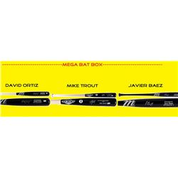Mega Bat Box Mystery Box - Autographed Baseball Bat Series #/100