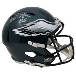 Miles Sanders Signed Philadelphia Eagles Full-Size Speed Helmet (JSA COA)