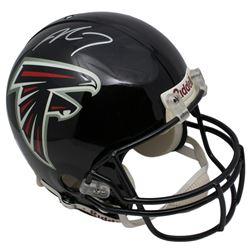 Michael Vick Signed Atlanta Falcons Full Size Authentic On-Field Helmet (Beckett COA)