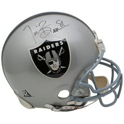 Tim Brown Signed Oakland Raiders Full Size Authentic On-Field Helmet (Beckett COA)