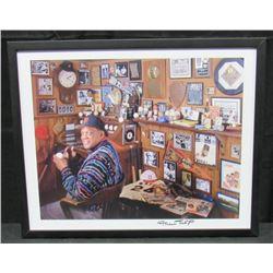 Willie Mays Signed San Francisco Giants 17x21 Custom Framed Print Display (JSA COA)