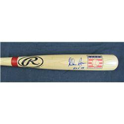 "Nolan Ryan Signed Rawlings Hall of Fame Logo Adirondack Baseball Bat Inscribed ""HOF 99"" (JSA COA)"