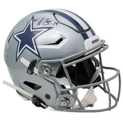 Amari Cooper Signed Dallas Cowboys Full-Size Authentic On-Field SpeedFlex Helmet (JSA COA)