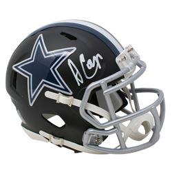 Amari Cooper Signed Dallas Cowboys Matte Black Speed Mini Helmet (JSA COA)