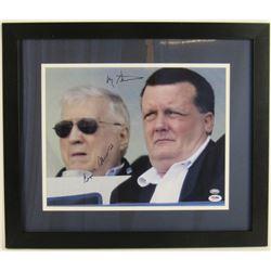 Hank Steinbrenner  George Steinbrenner Signed New York Yankees 17x20 Custom Framed Photo Display (PS