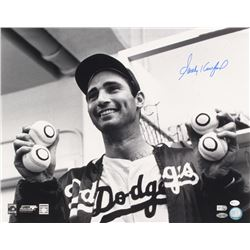 Sandy Koufax Signed Los Angeles Dodgers 16x20 Photo (MLB Hologram  Steiner COA)
