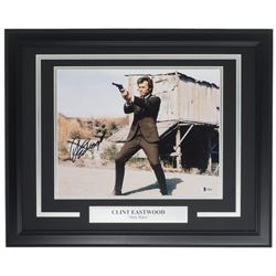 "Clint Eastwood Signed ""Dirty Harry"" 16x20 Custom Framed Photo Display (Beckett Hologram)"