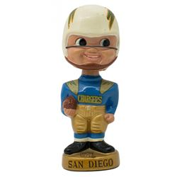 San Diego Chargers Vintage Bobblehead Figure