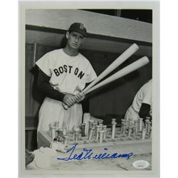 Ted Williams Signed Boston Red Sox 8x10 Photo (JSA LOA)