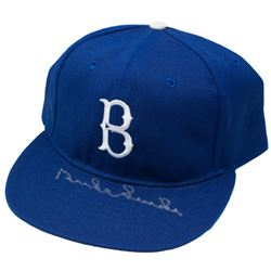 Duke Snider Signed Brooklyn Dodgers Fitted Hat (PSA COA)