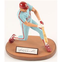 "Mike Schmidt Signed LE Philadelphia Phillies ""Schmitty"" 8"" Gartlan Figurine (Gartlan Authentic)"