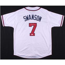 Dansby Swanson Signed Jersey (JSA COA)