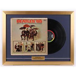 "The Beatles ""Beatles '65"" 18x24 Custom Framed Vinyl Record Display"