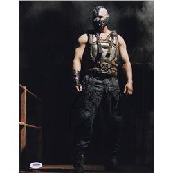 Tom Hardy Signed  The Dark Knight Rises  11x14 Photo (PSA COA)