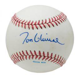 Tom Glavine Signed 1991 World Series Baseball (Beckett COA)