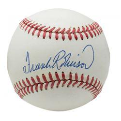 Frank Robinson Signed ONL Baseball (Beckett COA)