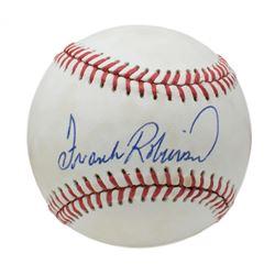 Frank Robinson Signed OAL Baseball (Beckett COA)