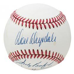 Don Drysdale, Sandy Koufax  Don Sutton Signed ONL Baseball (Beckett LOA)